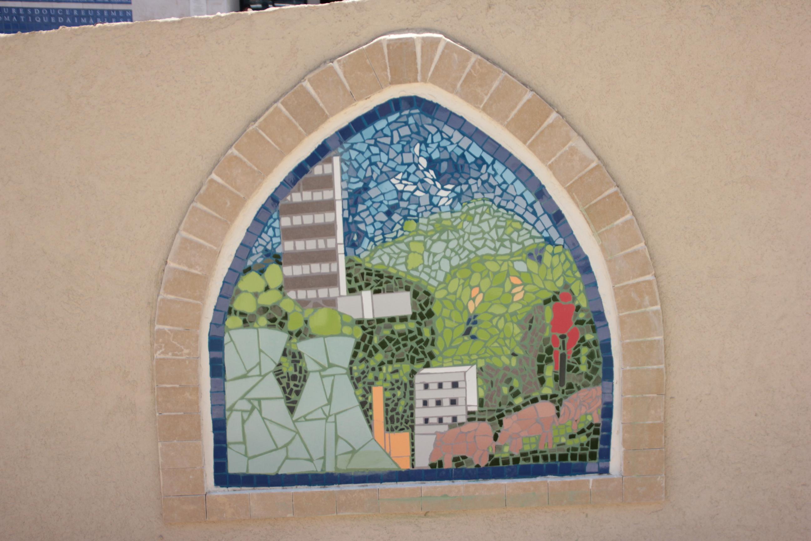 פרויקט פסיפס קהילתי: חיפה בין טבע לבנוי